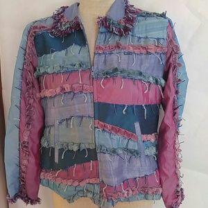 Sandy Starkman Custom Designer Boho Jacket sz.M